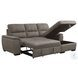 Andes Taupe 2 Piece Storage RAF Sectional