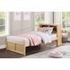 Bartly Natural Pine Youth Bookcase Bedroom Set