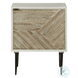 Dorvale White and Brown Accent Cabinet