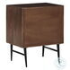 Dorvale Brown and Black Hardware Accent Cabinet