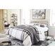 Waylowe Natural and Black King Platform Bed