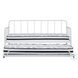 Trentlore White Twin Trundle Daybed