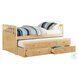 Bartly Natural Pine Youth Storage Trundle Bedroom Set