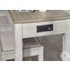 Skempton White And Light Brown 4 Piece Counter Height Dining Set