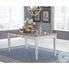 Skempton White And Light Brown Dining Table