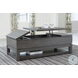 Caitbrook Gray Lift Top Occasional Table Set