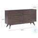 Loft Wooden Platform Bedroom Set