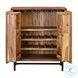 Bushwick Rustic Acacia Bar Cabinet