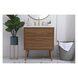 VF41030WB Boise Walnut Brown Rectangle Bathroom Vanity