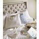 Artiste Chippy Gray Anna Flint Upholstered Cal King Panel Bed