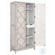 D437-004 Cream Two Tone Bar Cabinet