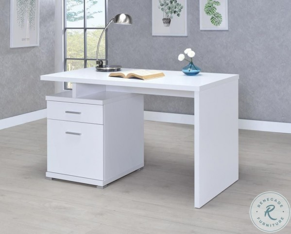 Decarie Desk With Cabinet From Coaster Furnitureetc Com 800110