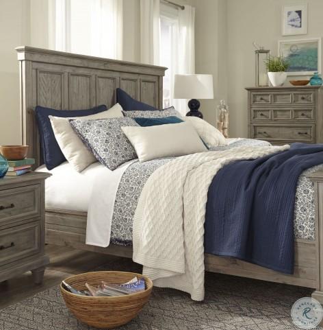 Lancaster Dovetail Grey King Panel Bed From Magnussen Home Furnitureetc Com B4352 64