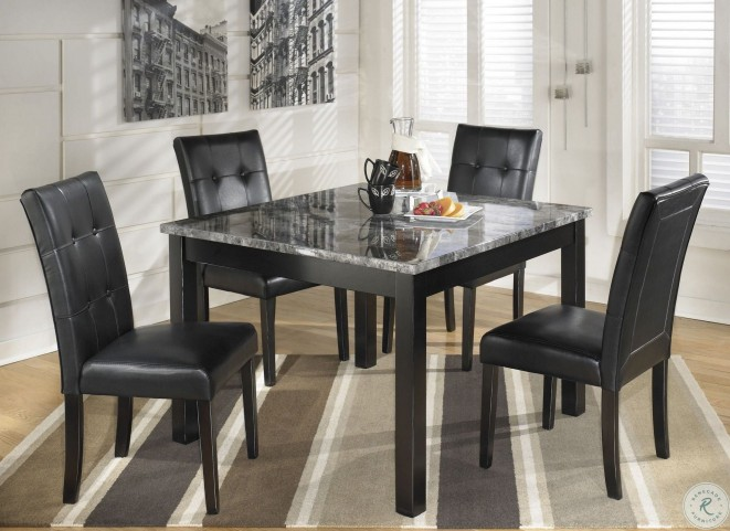 Maysville 5 Piece Square Counter Height Dining Room Set From Ashley Furniture Furnitureetc Com D154 223