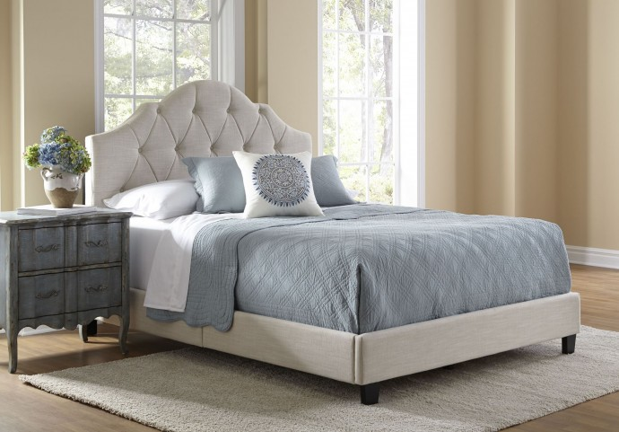 All-N-One Queen Upholstered Platform Bed