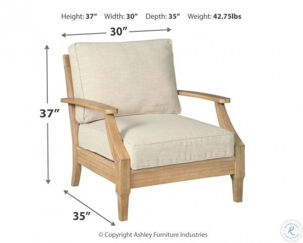 Clare View Beige Outdoor Living Room Set with Cushion from ... on Clare View Beige Outdoor Living Room id=35848
