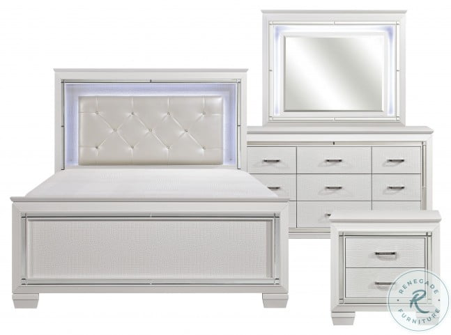 Allura White Youth Panel Bedroom Set From Homelegance Homegallerystore Com 1916fw 1