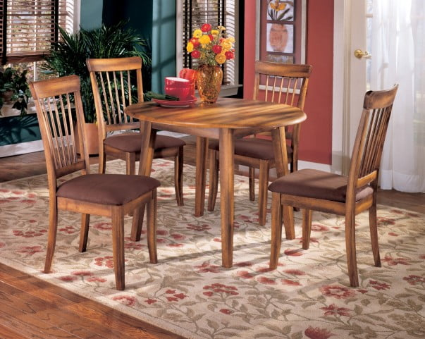Berringer Drop Leaf Extendable Table From Ashley Homegallerystore Com D199 15