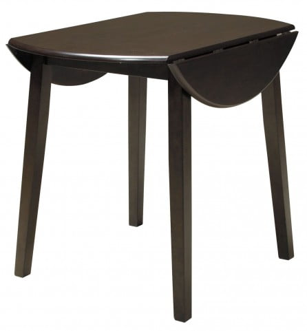 Hammis Round Dining Room Drop Leaf Table From Ashley Homegallerystore Com D310 15