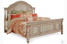 Belmar Antique Linen Queen Panel Bed