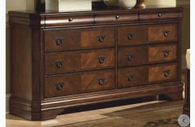Sheridan Burnished Cherry Dresser