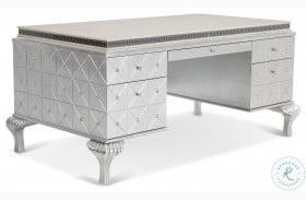 Hollywood Swank Pearl Caviar Desk