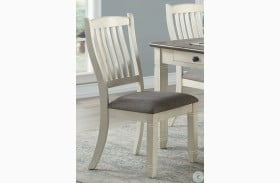 Granby Antique White Side Chair Set Of 2