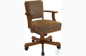 Mitchell Oak Game Chair