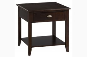 Merlot End Table