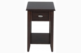 Merlot Chairside Table