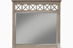 Potter French Truffle Mirror