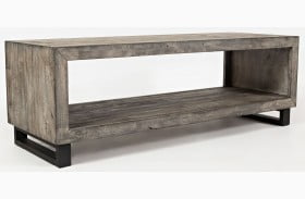 Mulholland Drive Distressed Gray Cocktail Table