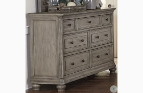Lavonia Wire Brushed Gray Dresser