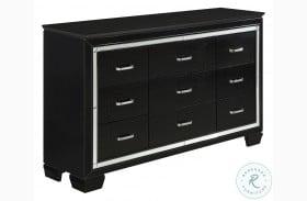 Allura Black Dresser