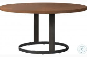 Marino Natural Cherry and Chrome Dining Table
