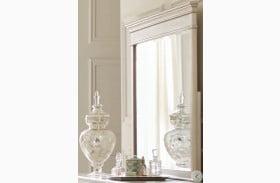 Celandine Silver Mirror