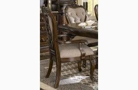 Bonaventure Park Cherry Arm Chair Set of 2