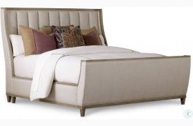 Cityscapes Stone Chelsea Upholstered Panel Bed