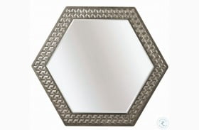 Geode Warm Kona Citrine Mirror