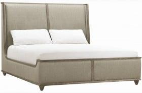 Geode Warm Kona Amethyst Upholstered Platform Bed