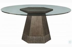 "Geode Warm Kona Bluff 60"" Dining Table"