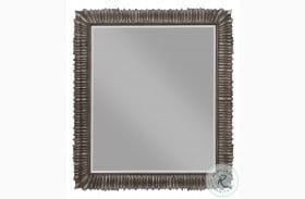 Landmark Russet Carved Mirror