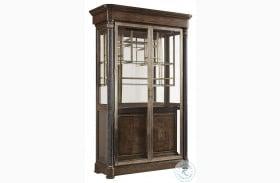 Landmark Russet Display Cabinet