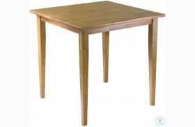 Groveland Light Oak Square Dining Table