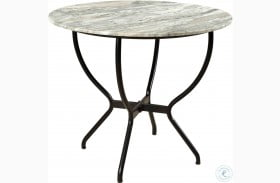 Midnight Multi Color Madeline Round Dining Table
