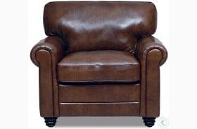 Dave Havana Italian Leather Chair