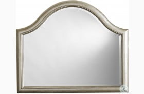 Starlite Silver Arched Mirror