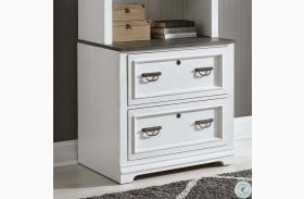 Allyson Park Wirebrushed Bunching Lateral File Cabinet