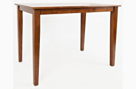 Simplicity Caramel Counter Height Dining Table