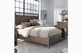 Sonoma Road Beaten Bark Queen Panel Bed